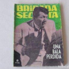Tebeos: BRIGADA SECRETA Nº 75. EDICIONES TORAY. AÑOS 1962-1967. C-83. Lote 294016878