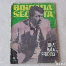 Tebeos: BRIGADA SECRETA Nº 75. EDICIONES TORAY. AÑOS 1962-1967. C-83. Lote 294017073