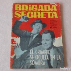 Tebeos: BRIGADA SECRETA Nº 76. EDICIONES TORAY. AÑOS 1962-1967. C-83. Lote 294017473