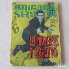 Tebeos: BRIGADA SECRETA Nº 79. EDICIONES TORAY. AÑOS 1962-1967. C-83. Lote 294017953