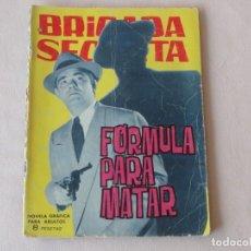 Tebeos: BRIGADA SECRETA Nº 81. EDICIONES TORAY. AÑOS 1962-1967. C-84. Lote 294083873