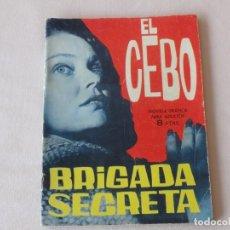 Tebeos: BRIGADA SECRETA Nº 82. EDICIONES TORAY. AÑOS 1962-1967. C-84. Lote 294095218
