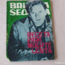Tebeos: BRIGADA SECRETA Nº 86. EDICIONES TORAY. AÑOS 1962-1967. C-84. Lote 294099143