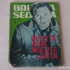 Tebeos: BRIGADA SECRETA Nº 86. EDICIONES TORAY. AÑOS 1962-1967. C-84. Lote 294099293