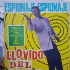 Tebeos: ESPIONAJE-NOVELA GRÁFICA- Nº 42 -LLOVIDO DEL CIELO-1966-GRAN JOSEP GUAL-BUENO-LEA-5682. Lote 294479193