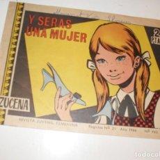 Tebeos: AZUCENA 963(DE 1215).ORIGINALES.EDICIONES TORAY,AÑO 1950.. Lote 294566223