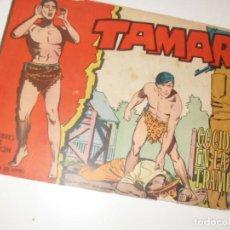 Tebeos: TAMAR 132(DE 186).ORIGINALES.EDICIONES TORAY,AÑO 1961.. Lote 294567663