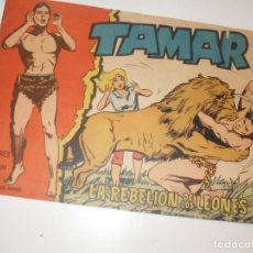 Tebeos: TAMAR 125(DE 186).ORIGINALES.EDICIONES TORAY,AÑO 1961.. Lote 294567998