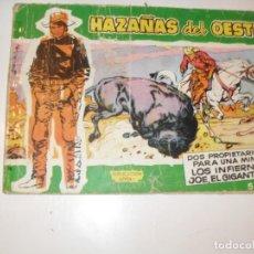 Tebeos: HAZAÑAS DEL OESTE 23(DE 44).EDICIONES TORAY,AÑO 1959.COLECCION DIFICIL.ORIGINAL.. Lote 294574258