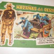 Tebeos: HAZAÑAS DEL OESTE 20(DE 44).EDICIONES TORAY,AÑO 1959.COLECCION DIFICIL.ORIGINAL.. Lote 294574373