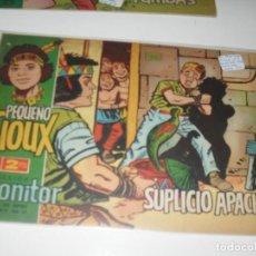 Tebeos: PEQUEÑO SIOUX 9.IBERO MUNDIAL DE EDICIONES,AÑO 1962.COLECCION DIFICIL.ORIGINAL.. Lote 294576728