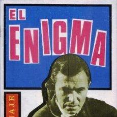 Tebeos: ESPIONAJE-NOVELA GRÁFICA- Nº 18 -EL ENIGMA-1965-PERSONAL ANTONIO BORRELL-BUENO-MUY DIFÍCIL-LEA-5687. Lote 295021808
