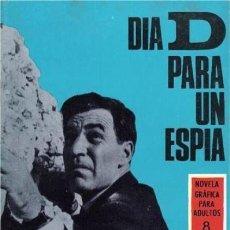 Tebeos: ESPIONAJE-NOVELA GRÁFICA- Nº 40 -DÍA D PARA UN ESPÍA-1960-RAFAELCORTIELLA-M.DIFÍCIL-LEA-5691. Lote 295433453