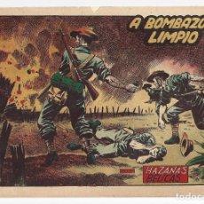 Tebeos: HAZAÑAS BÉLICAS 50: A BOMBAZO LIMPIO, 1952, TORAY, BUEN ESTADO. Lote 295445018