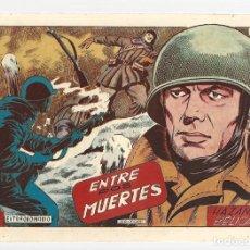 Tebeos: HAZAÑAS BÉLICAS 49 BIS: ENTRE DOS MUERTES, 1952, TORAY, MUY BUEN ESTADO. Lote 295445398