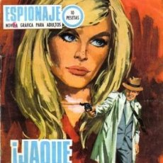 Tebeos: ESPIONAJE-NOVELA GRÁFICA- Nº 63 -¡JAQUE A LA REINA!-1967-VICENTE FARRÉS-BUENO-DIFÍCIL-LEA-5694. Lote 295445498