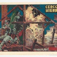 Tebeos: HAZAÑAS BÉLICAS 49: CERCO DE HIERRO, 1952, TORAY, MUY BUEN ESTADO. Lote 295445718