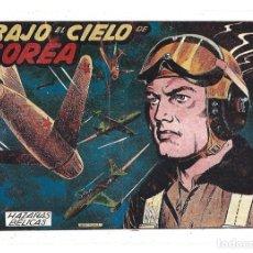 Tebeos: HAZAÑAS BÉLICAS 48: BAJO EL CIELO DE COREA, 1952, TORAY, MUY BUEN ESTADO. Lote 295446043