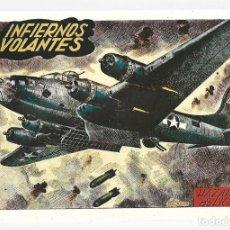 Tebeos: HAZAÑAS BÉLICAS 42: INFIERNOS VOLANTES, 1951, TORAY, ORIGINAL, BUEN ESTADO. Lote 295447773