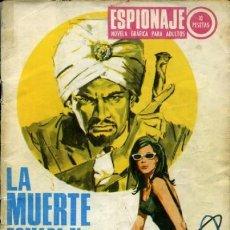 Tebeos: ESPIONAJE-NOVELA GRÁFICA- Nº 66 -LA MUERTE TOMABA EL SOL-1967-GRAN JORGE BADÍA-CORRECTO-LEA-5695. Lote 295448378