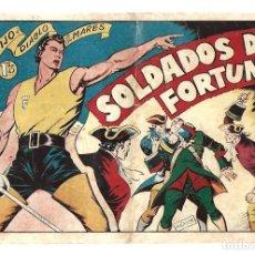 Tebeos: EL HIJO DEL DIABLO DE LOS MARES 16: SOLDADOS DE FORTUNA, 1949 TORAY, BUEN ESTADO. Lote 295450828