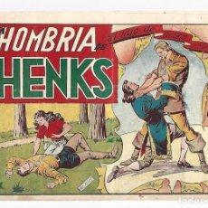 Tebeos: EL HIJO DEL DIABLO DE LOS MARES 15: LA HOMBRIA DE HENKS, 1949 TORAY, BUEN ESTADO. Lote 295451288