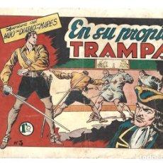 Tebeos: EL HIJO DEL DIABLO DE LOS MARES 3: EN SU PROPIA TRAMPA, 1949, TORAY, BUEN ESTADO. Lote 295452508