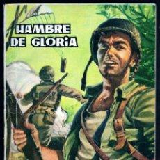 Tebeos: GIROEXLIBRIS.- HAZAÑAS BÉLICAS.1961. Nº3 HAMBRE DE GLORIA, P. DE JORDI LOGARON Y DJOS. DE ALAN DOYER. Lote 295580613