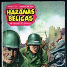 Tebeos: GIROEXLIBRIS.- HAZAÑAS BÉLICAS.1961. Nº 9 MANOS DE PLATA CON DIBUJOS DE ALAN DOYER. Lote 295581633