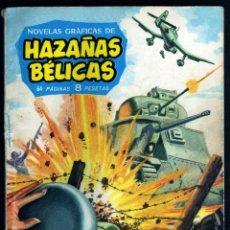 Tebeos: GIROEXLIBRIS.- HAZAÑAS BÉLICAS.1961. Nº 11 LOS MUERTOS TAMBIÉN LUCHAN CON DIBUJOS DE ALAN DOYER. Lote 295582043