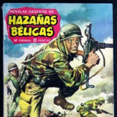 Tebeos: GIROEXLIBRIS.- HAZAÑAS BÉLICAS.1962. Nº 12 COMANDO EN OKINAWA CON DIBUJOS DE ALAN DOYER. Lote 295582408
