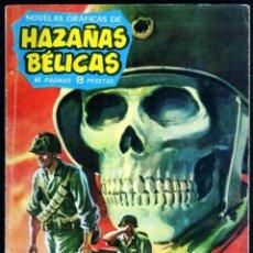 Tebeos: GIROEXLIBRIS.- HAZAÑAS BÉLICAS.1962. Nº 13 ALBA DE SANGRE CON DIBUJOS DE ALAN DOYER. Lote 295582578