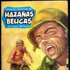 Tebeos: GIROEXLIBRIS.- HAZAÑAS BÉLICAS.1962. Nº 18 LUCHA DE TITANES CON DIBUJOS DE ALAN DOYER. Lote 295583418