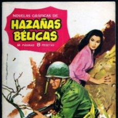 Tebeos: GIROEXLIBRIS.- HAZAÑAS BÉLICAS.1962. Nº 21 MEMORIAS DE UN SOLDADO CON PORTADA DE J. LONGARÓN. Lote 295585698