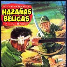 Tebeos: GIROEXLIBRIS.- HAZAÑAS BÉLICAS.1962. Nº 24 TRES HOMBRES VAN A MORIR CON PORTADA DE J. LONGARÓN. Lote 295586358