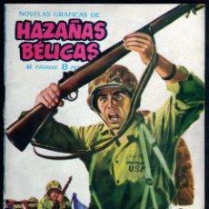 Tebeos: GIROEXLIBRIS.- HAZAÑAS BÉLICAS.1962. Nº 31 NIDO DE TRAIDORES CON PORTADA DE J. LONGARÓN. Lote 295588863