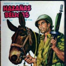 Tebeos: GIROEXLIBRIS.- HAZAÑAS BÉLICAS.1962. Nº 32 MI MULA Y YO CON PORTADA DE J. LONGARÓN. Lote 295589128