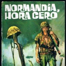Tebeos: GIROEXLIBRIS.- HAZAÑAS BÉLICAS.1962. Nº 33 NORMANDÍA HORA CERO CON PORTADA DE J. LONGARÓN. Lote 295589418