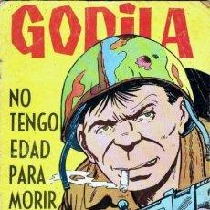 Tebeos: HAZAÑAS BÉLICAS-GORILA- Nº 163 -NO TENGO EDAD PARA MORIR-1965-JOSÉ ESPINOSA-DIFÍCIL-BUENO-5701. Lote 295640308