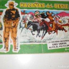 Tebeos: HAZAÑAS DEL OESTE 14.EDICIONES TORAY,AÑO 1958.ORIGINAL APAISADO.TEBEO DIFICIL.. Lote 295911358