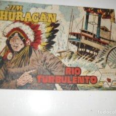Tebeos: JIM HURACAN 34.EDICIONES TORAY,AÑO 1959.ORIGINAL APAISADO.TEBEO DIFICIL.. Lote 295912548