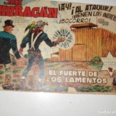 Tebeos: JIM HURACAN 18.EDICIONES TORAY,AÑO 1959.ORIGINAL APAISADO.TEBEO DIFICIL.. Lote 295913213