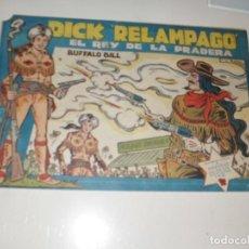 Tebeos: DICK RELAMPAGO 70.EDICIONES TORAY,AÑO 1959.ORIGINAL APAISADO.TEBEO DIFICIL.. Lote 295914943