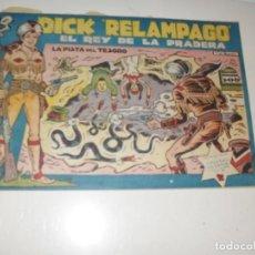 Tebeos: DICK RELAMPAGO 69.EDICIONES TORAY,AÑO 1959.ORIGINAL APAISADO.TEBEO DIFICIL.. Lote 295915133