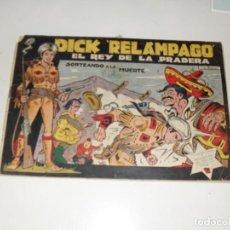 Tebeos: DICK RELAMPAGO 61.EDICIONES TORAY,AÑO 1959.ORIGINAL APAISADO.TEBEO DIFICIL.. Lote 295915938