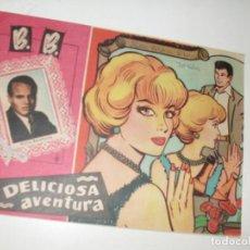 Tebeos: B.B. DELICIOSA AVENTURA.EDICIONES FERMA,AÑO 1959.ORIGINAL APAISADO.. Lote 296699793