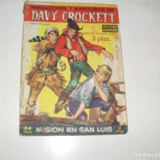 Tebeos: COLECCION HURACAN DAVY CROCKETT:MISION EN SAN LUIS.TORAY,AÑO 1959.ORIGINAL RARO.. Lote 296713873
