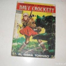 Tebeos: COLECCION HURACAN DAVY CROCKETT:EL GRAN TORNEO.TORAY,AÑO 1959.ORIGINAL RARO.. Lote 296714038