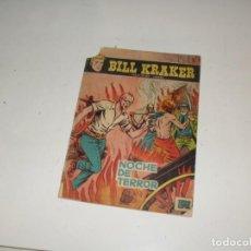 Tebeos: BILL KRAKER:NOCHE DE TERROR.EDICIONES TORAY,AÑO 1958.RARO TEBEO.. Lote 296776338