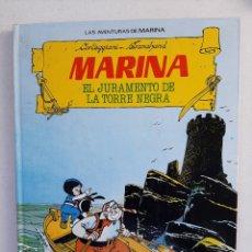 Tebeos: CÓMIC LAS AVENTURAS DE MARINA/ EL JURAMENTO DE LA TORRE NEGRA - CORTEGGIANI/ TRANCHAND. Lote 297054843